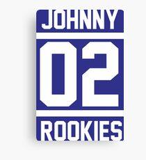 JOHNNY 02 ROOKIES Canvas Print