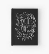 Practice Makes Perfect Hardcover Journal