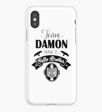 Team Damon Vampire diaries iPhone Case/Skin