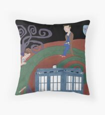Meeting in the Colors Throw Pillow