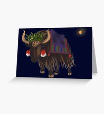 Three Kings: Melchior Greeting Card