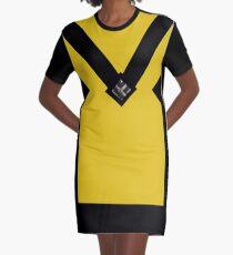 You + Royal Yellow Graphic T-Shirt Dress