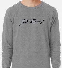 Barbra Streisand Authentic Signature  Lightweight Sweatshirt