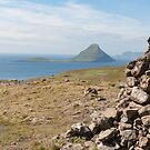 Path cairn mirroring Koltur by Mark Prior