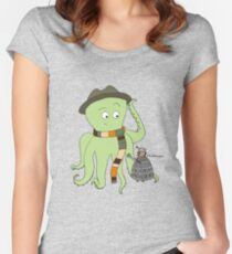 Doctorpus Who Women's Fitted Scoop T-Shirt