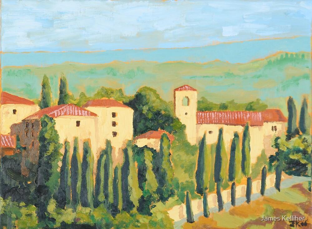 Castellina in Chianti by James Kelliher