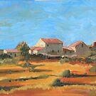 Near Castellina by James Kelliher