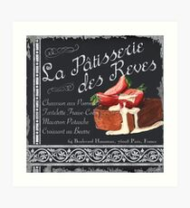 La Patisserie des Reves Art Print