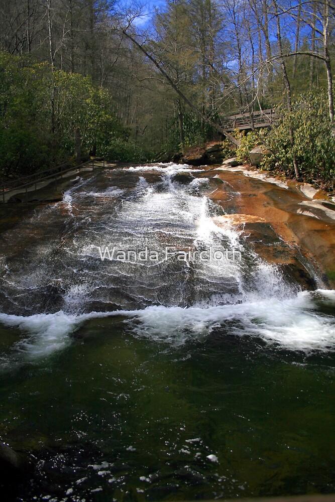 natures water slide by Wanda Faircloth