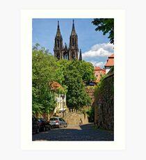 Castle & Cathedral, Meissen, Saxony Art Print