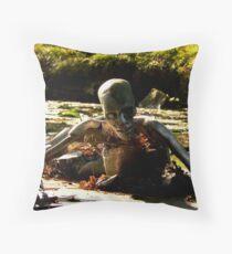 roboman Throw Pillow