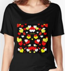 I Love Mickey Women's Relaxed Fit T-Shirt