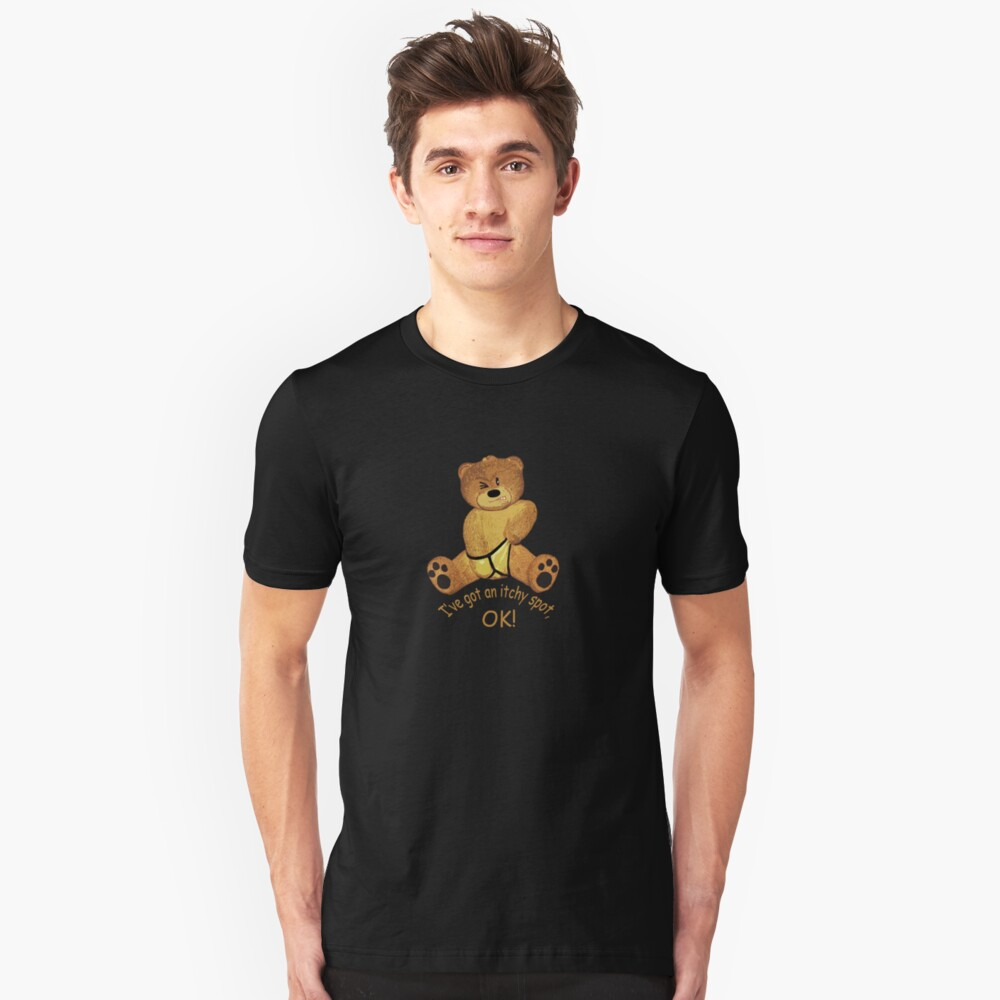 Itchy Unisex T-Shirt Front