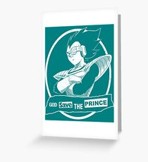 God Save The Prince Greeting Card