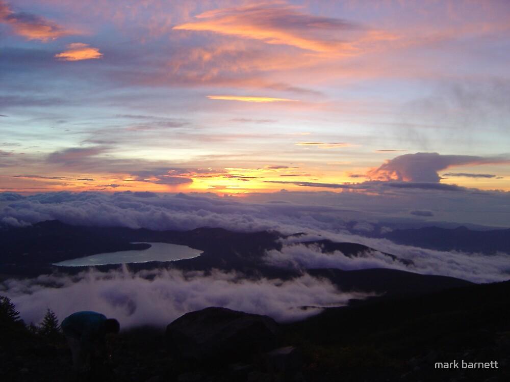 nice start of beautiful sunrise by mark barnett