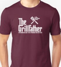 The Grillfather (fonce) Unisex T-Shirt