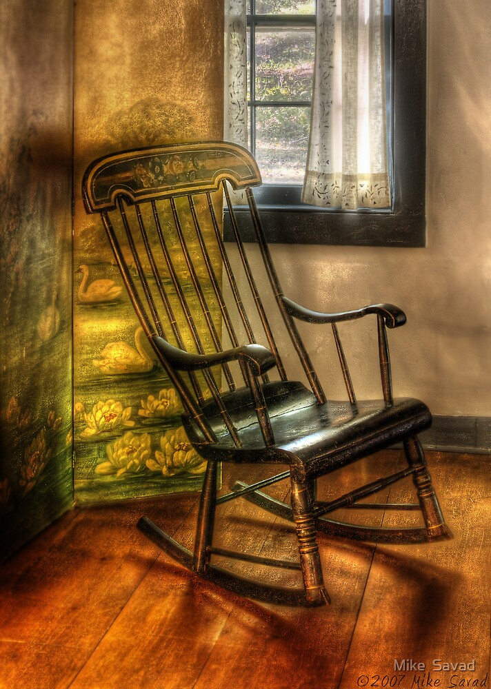 The rocking chair by Michael Savad