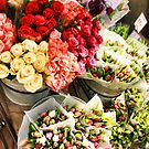 Flower stall in Spring by amgunnphotoart