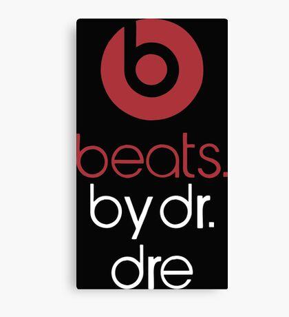 beats by dr dre Canvas Print
