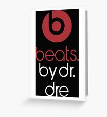 beats by dr dre Greeting Card