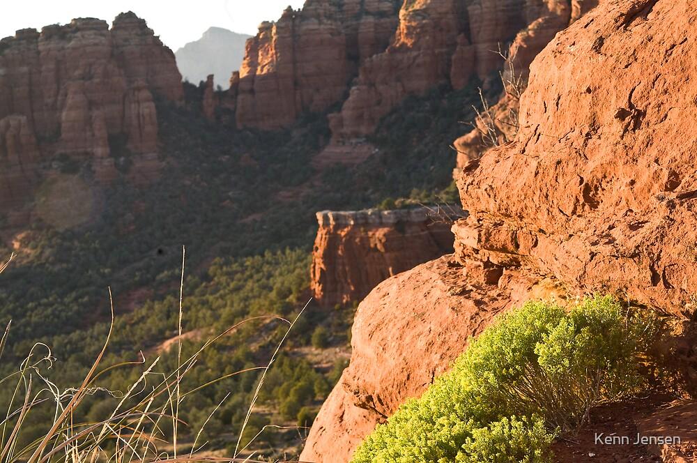 Above Sedona Arizona by Kenn Jensen