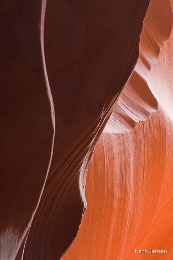 Antelope Canyon Arizona #3 by Kenn Jensen