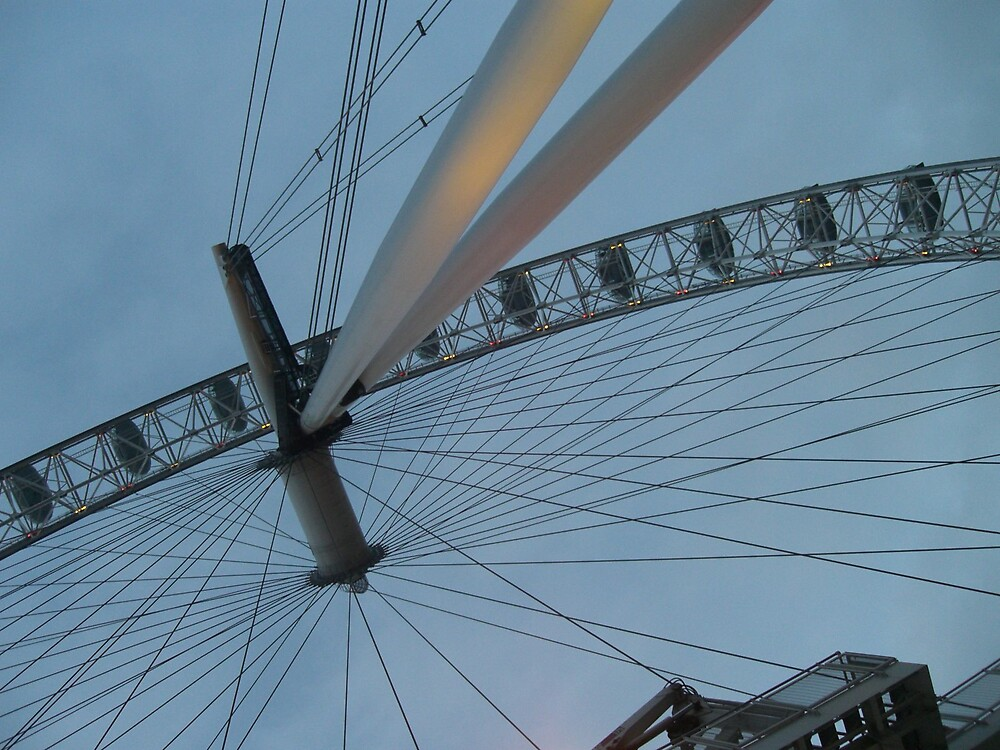 Millenium Wheel London by Danielle Murdoch