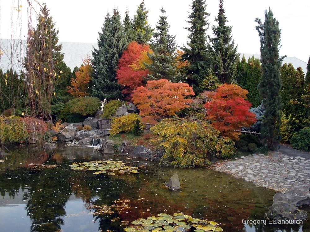 Kasugai Japenese  Garden, Kelowna,B.C.,Canada by Gregory Ewanowich