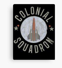 Battlestar Galactica Colonial Squadron classic TV Canvas Print