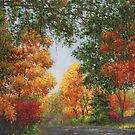 Autumn in the Suburbs by Susan Savad