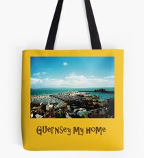 Guernsey my home (four) Tote Bag