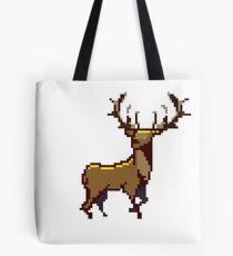 Pixel Stag (Individual) Tote Bag