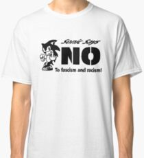 Sonic the Hedgehog - Sonic Says NO To fascism and racism! Classic T-Shirt