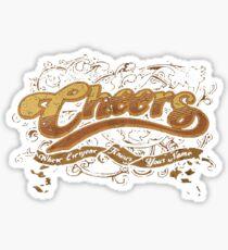 Cheers Bar Sticker