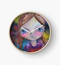 MM Girl Clock