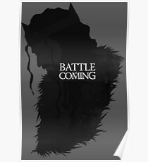 The Battle is Coming Poster