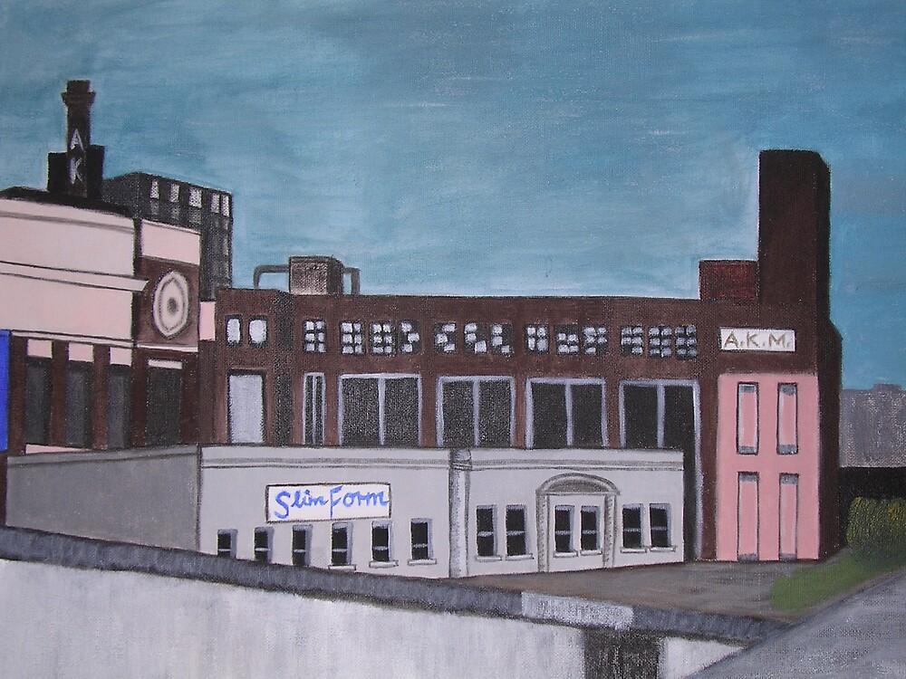 Entering Richmond by Joan Wild