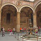 Palazzo Vecchio courtyard by Elena Skvortsova