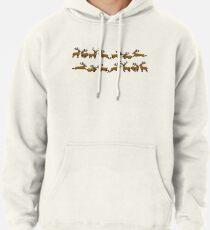 Pixel Stag (Pattern) Pullover Hoodie