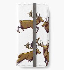 Pixel Stag (Pattern) iPhone Wallet/Case/Skin