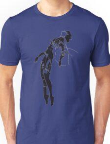 undone robot girl Unisex T-Shirt