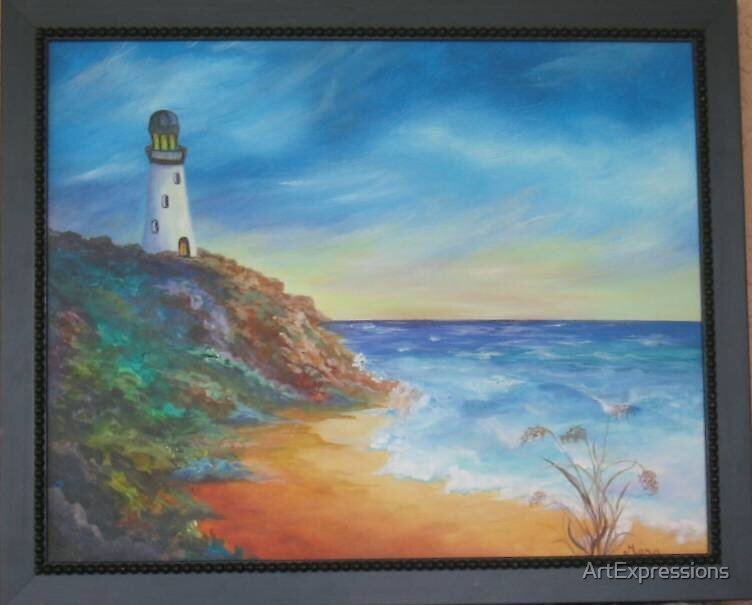 Siesta Sunset by ArtExpressions