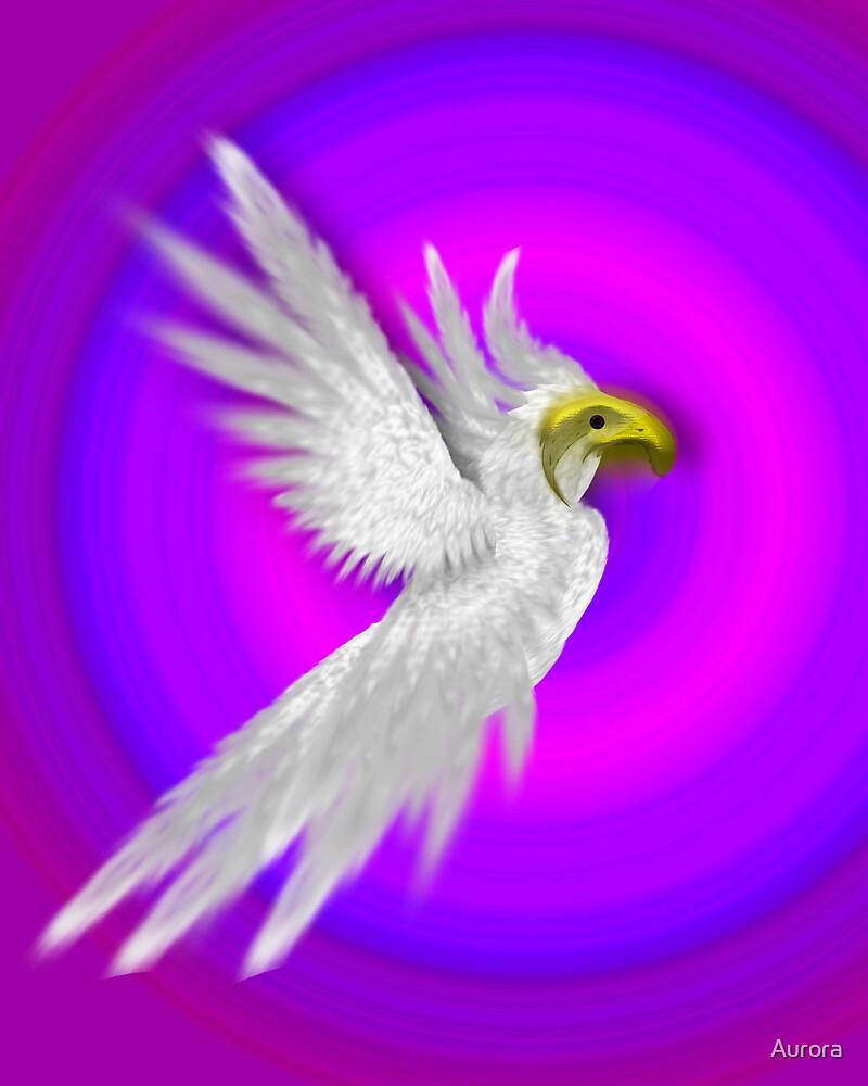Bird of paradise by Aurora