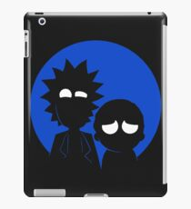 morty and rick iPad Case/Skin