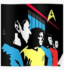 Star Trek Vintage  Poster