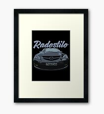 Mazda 3 MPS Framed Print