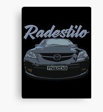 Mazda 3 MPS Canvas Print
