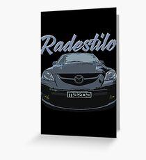Mazda 3 MPS Greeting Card