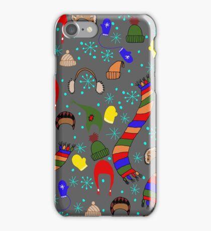 Winter clothing iPhone Case/Skin