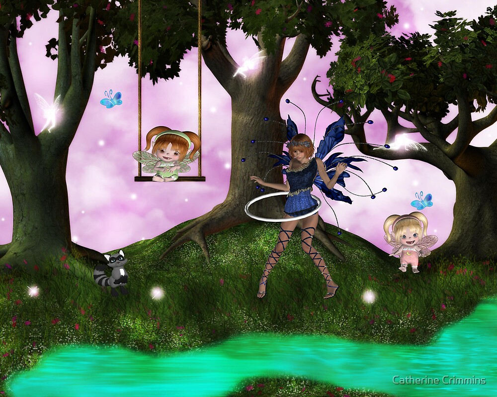 Fairy Play by Catherine Crimmins